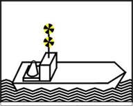 Bleib weg signal schifffahrt